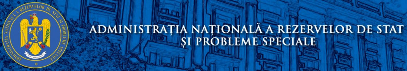 Administratia Nationala a rezerverlor de Stat si Probleme Speciale